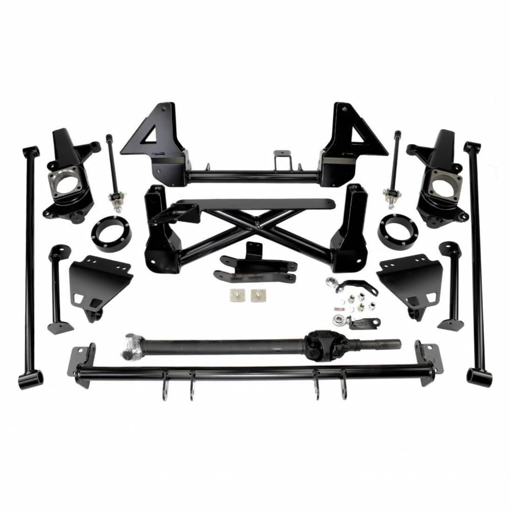 Cognito 10-12 Inch Front Suspension Lift Kit For 03-09 Hummer H2