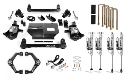 Cognito 4-Inch Performance Lift Kit with Fox PSRR 2.0 Shocks for 11-19 Silverado/Sierra 2500/3500 2WD/4WD