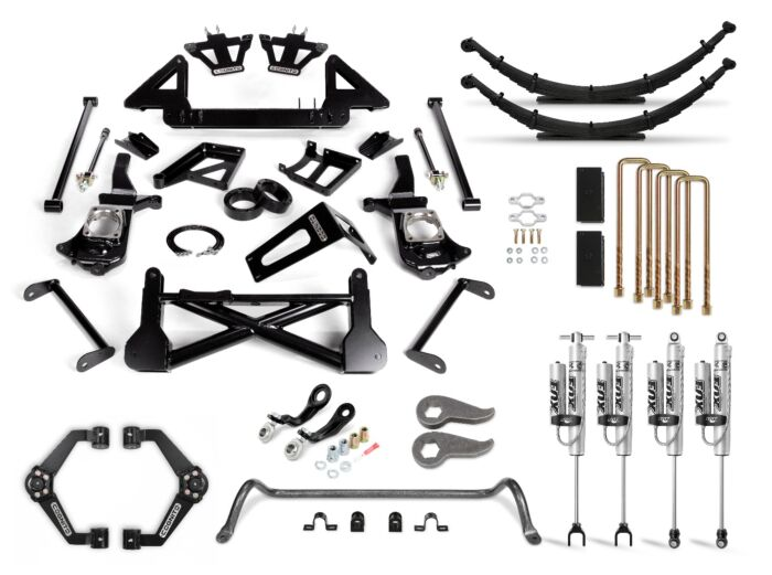 Cognito 12-Inch Performance Lift Kit with Fox PSRR 2.0 Shocks for 11-19 Silverado/Sierra 2500/3500 2WD/4WD