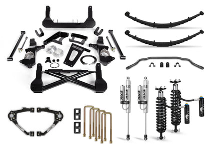 Cognito 12-Inch Elite Lift Kit with Fox FSRR Shocks for 07-18 Silverado/Sierra 1500 2WD/4WD With OEM Cast Steel Control Arms