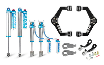 Cognito 3-Inch Elite Leveling Kit with King 2.5 Reservoir Shocks for 20-21 Silverado/Sierra 2500/3500 2WD/4WD