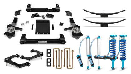 Cognito 6-Inch Elite Lift Kit with King 2.5 Remote Reservoir Shocks for 19-21 Silverado/Sierra 1500 2WD/ 4WD