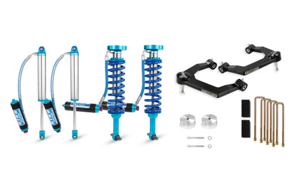 Cognito 3-Inch Elite Uniball Leveling Lift Kit With King 2.5 Shocks for 19-21 Silverado/Sierra 1500 2WD/4WD