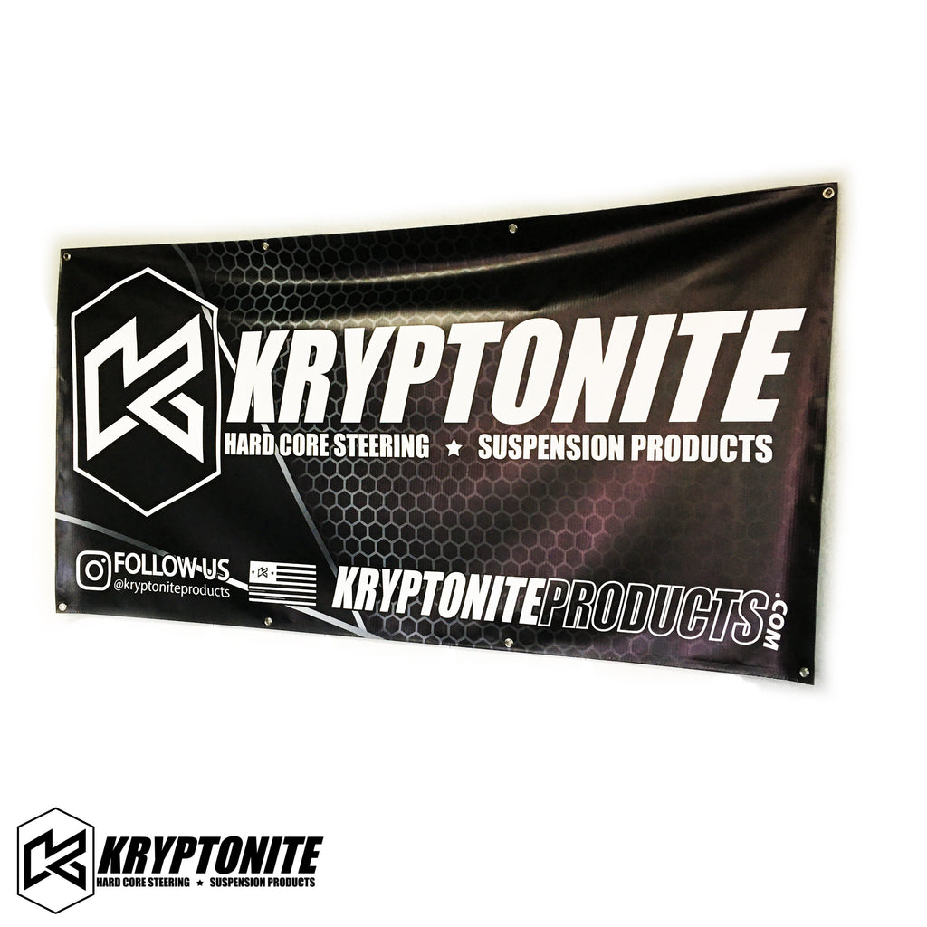 KRYPTONITE SHOP BANNER 3' X 6'