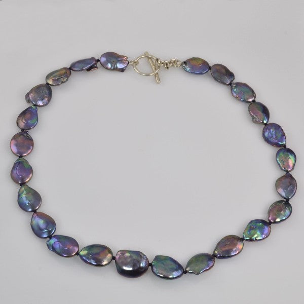 """Peacock FantasyPearl Necklace"