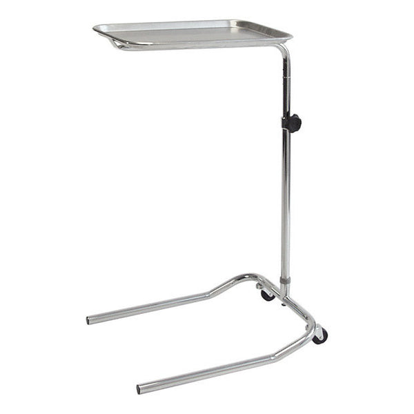 PE06 Stainless Steel & Chrome Mayo Table
