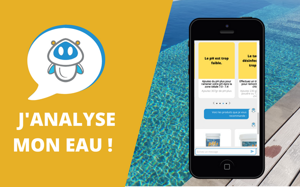 Analyse eau piscine
