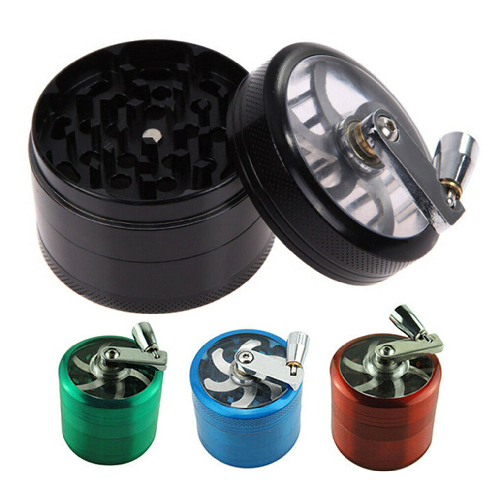 4 Part Herb Mill Grinder, Tobacco Products by GrinderBox