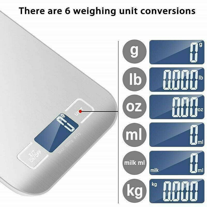 LCD Scales 5KG, Health Care by GrinderBox