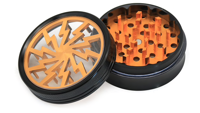 50mm Lightning Grinder, Tobacco Products by GrinderBox
