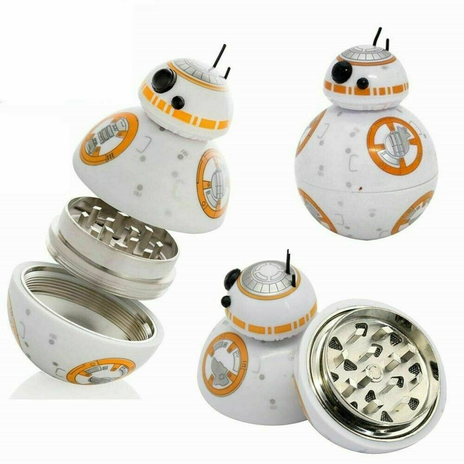 BB8 Droid White Grinder by  GrinderBox