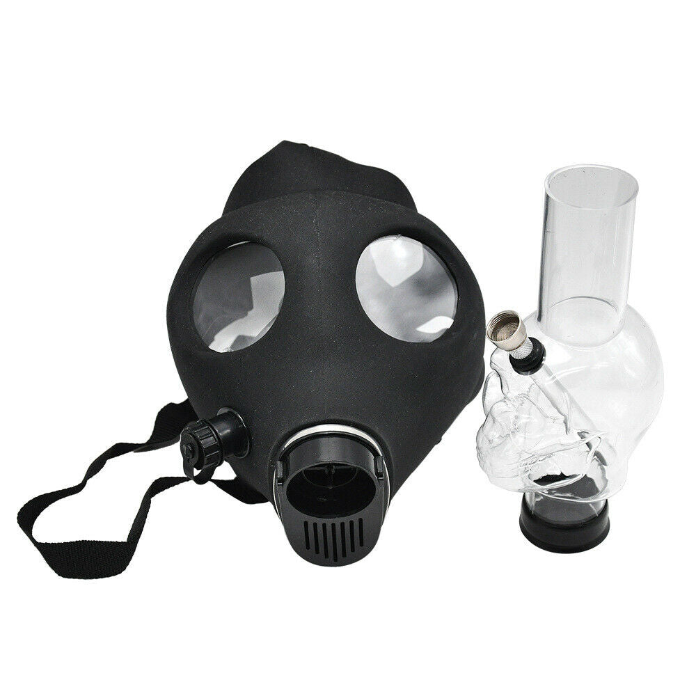 Gas Mask Adjustable Hookah Bong, Tobacco Products by GrinderBox