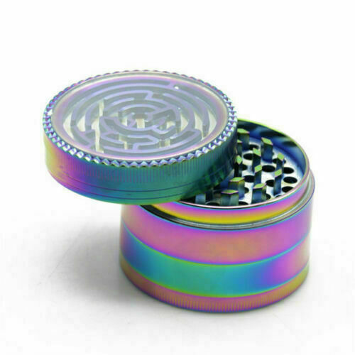 Rainbow Maze Grinder, Tobacco Products by GrinderBox