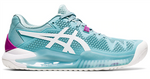 ASICS GEL Resolution 8 Womens Tennis Shoes NZ Smoke Blue