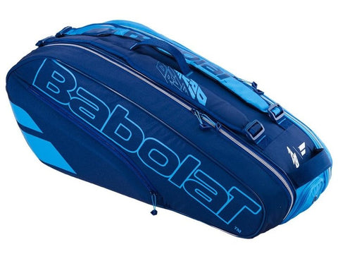 Babolat Racquet Holder 6 Pure Drive Blue/Navy NZ