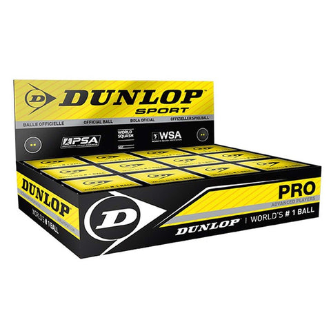 Dunlop Squash Ball Box NZ