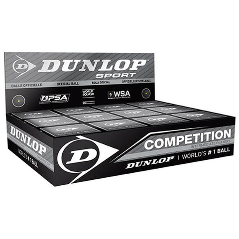 Dunlop Squash Ball Single Dot NZ