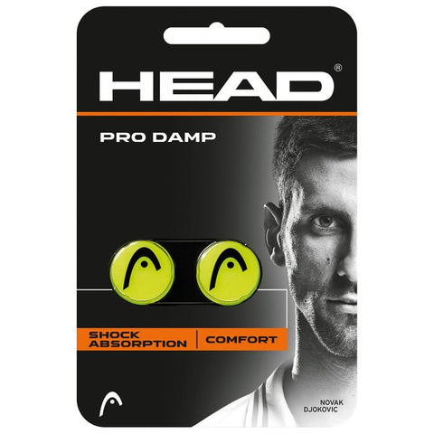 HEAD Pro Damp Racquet Dampener NZ Yellow