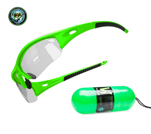 Salming V1 Squash Eyewear Junior Green NZ