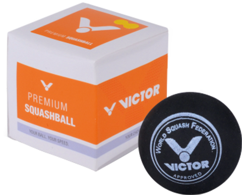 VICTOR Single Dot Squash Ball Auckland NZ