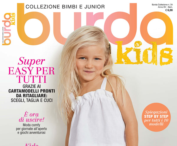 POP BY GAEA IN BURDA KIDS MAGAZINE