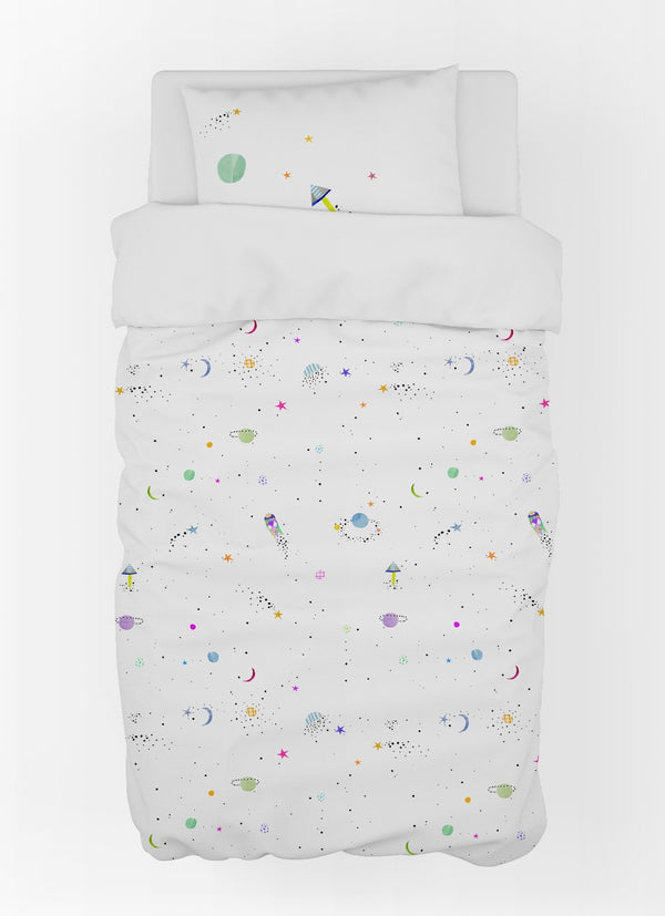 Cosmos Duvet Cover & Pillow Case