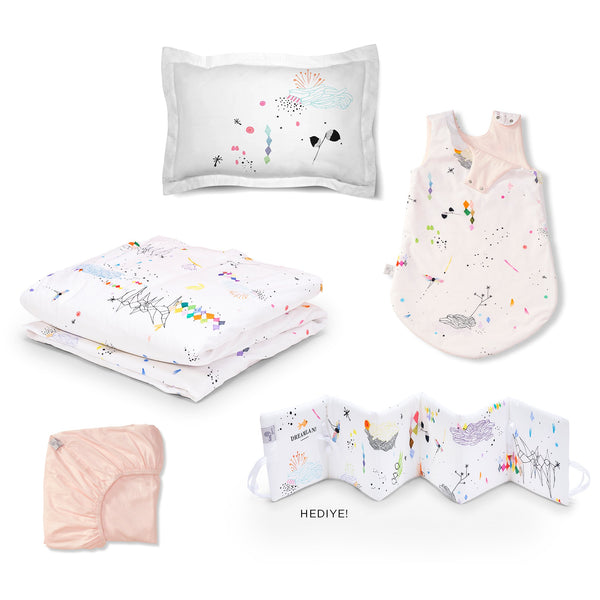 Lil'Gaea Dreamland Sleep Set Almost Mauve