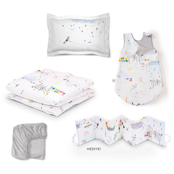 Lil'Gaea Dreamland Sleep Set Vapor Blue
