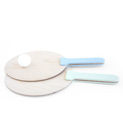 Ping Pong Racket Mint & Light Blue