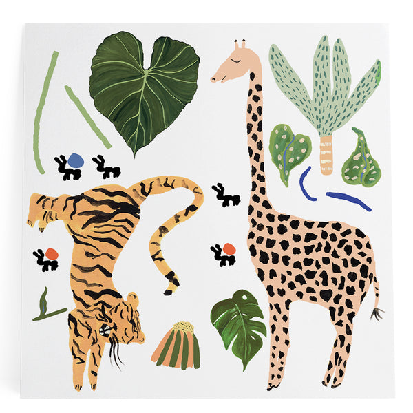 La Festa Tiger & Giraffe XL Sticker
