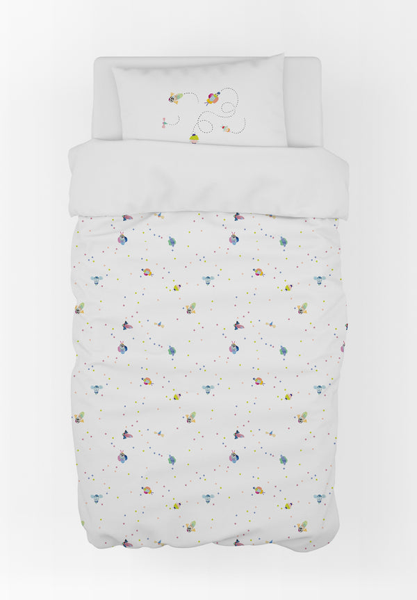 Bugs Duvet Cover & Pillow Case