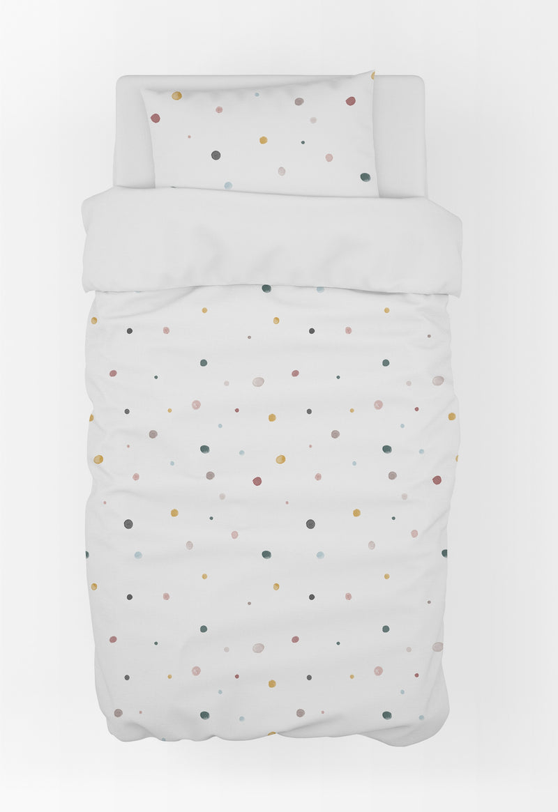 Polka Dots Duvet Cover & Pillow Case