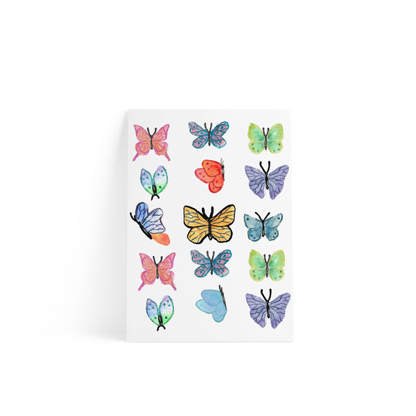 Butterflies Sticker A4