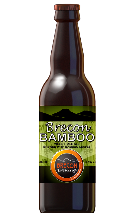 Brecon Bamboo, 5.0% ABV, Case of 12x 500ml bottles