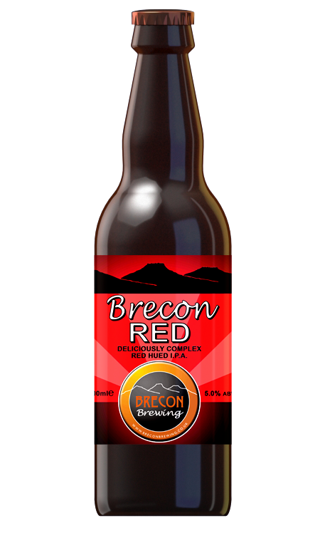 Brecon Red, 5.0% ABV, Case of 12x 500ml bottles