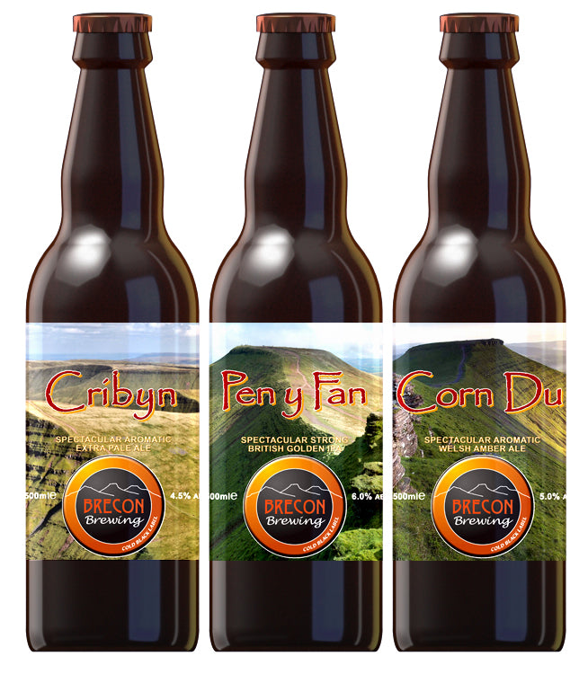 Mixed Case of the Three Peaks, 5.0% ABV, Case of 12x 500ml bottles