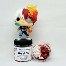 Load image into Gallery viewer, Hot & Icy Themed MHA Foaming Sugar Scrub