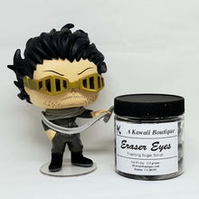 Load image into Gallery viewer, Eraser Eyes Themed MHA Foaming Sugar Scrub