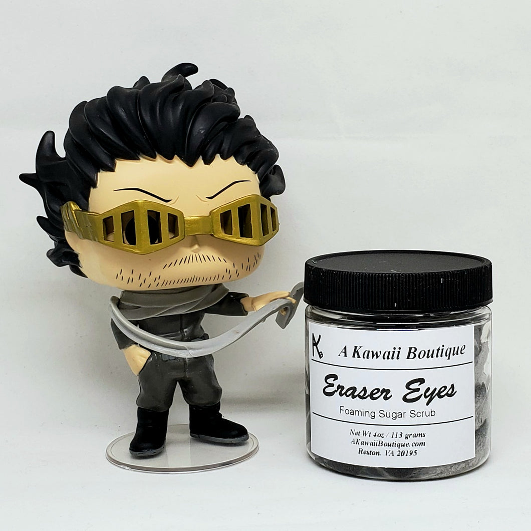 Eraser Eyes Themed MHA Foaming Sugar Scrub