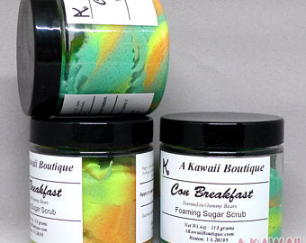 Con Breakfast Foaming Sugar Scrub
