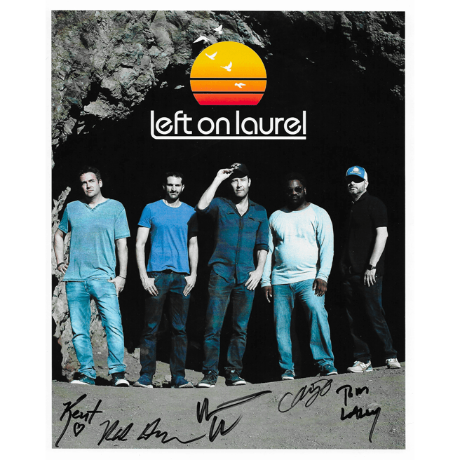 Left on Laurel Autographed 8x10 Band Photo