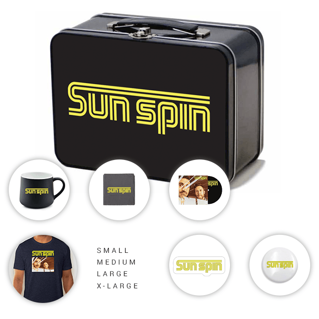 Sun Spin Lunch Box Collection<br>Lunch Box Not Sold Separately.