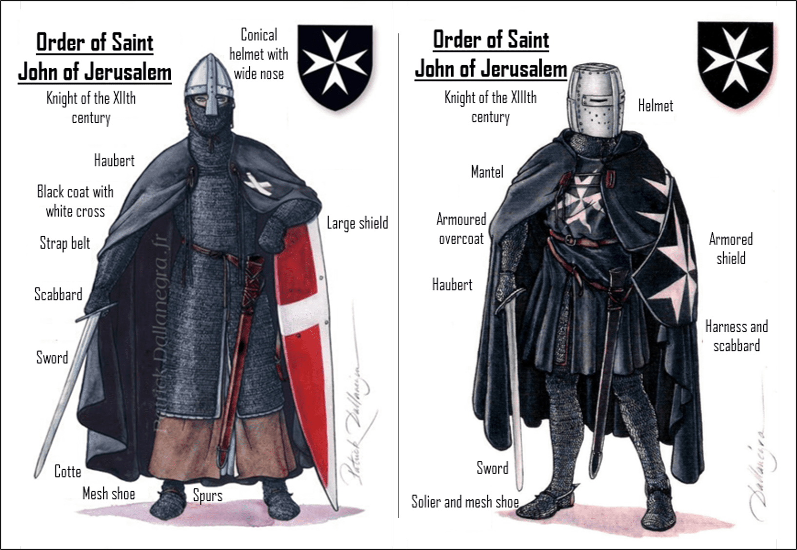 The hospitable knights