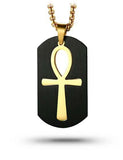 Egyptian necklace Sacred Ankh (Steel) | Ancient Egypt