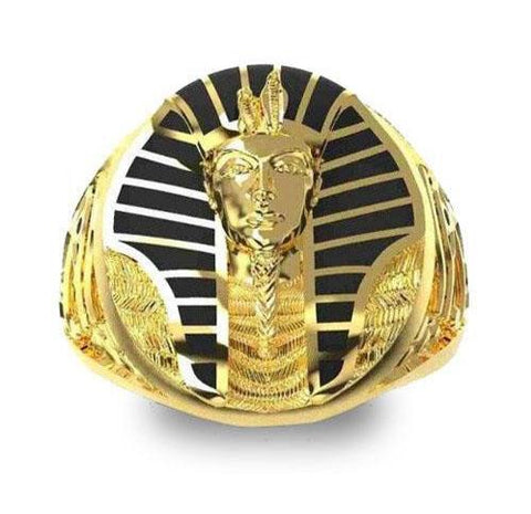 Great Pharaoh Egyptian Ring (Gold Plated) | Ancient Egypt