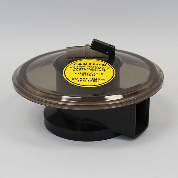 A&A Manufacturing Low Profile Valve Lid with O-ring - Clear (524664)