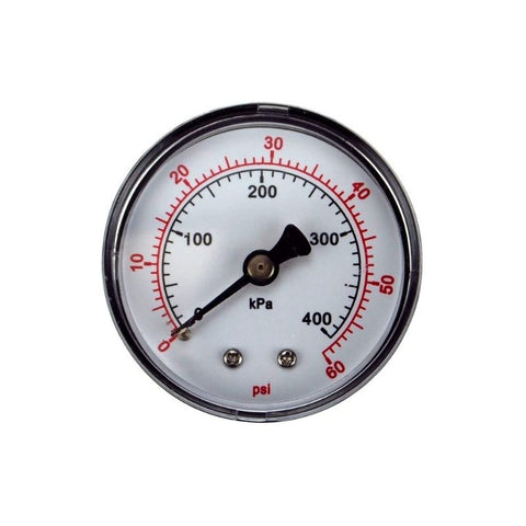 Pentair Sta-Rite System 3 Filter Pressure Gauge (33600-0023t)