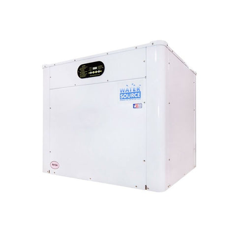 AquaCal WaterSource 3 Phase, 208-230v w/ Reverse Cycle Cooling Ti/Ti (WS10BRDSWPM)