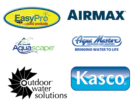 Retail seller of all AirMax, EasyPro, AquaScape, AquaMaster, Kasco, and Outdoor Water Solutions products. Products such as fountains, water circulators, pond kits, and water treatment supplies.