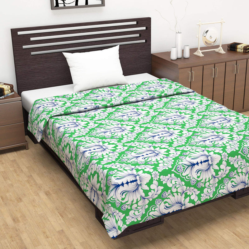 Rosy Series 100% Cotton Single Bed Dohar Quilt Blanket | RS1223